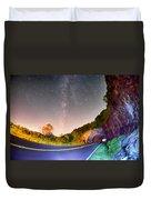 The Craggy Pinnacle Tunnel On The Blue Ridge Parkway  Duvet Cover