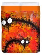 The Creatures From The Drain Painting 31 Duvet Cover