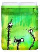The Creatures From The Drain Painting 4 Duvet Cover