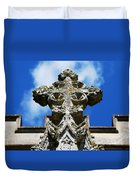 The Cross And The Tower Duvet Cover