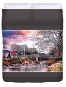 The Crossing II Brenton Woods Nh Duvet Cover