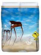 The Crossing Duvet Cover by Mike McGlothlen