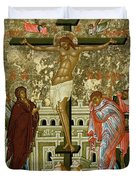 The Crucifixion Of Our Lord Duvet Cover