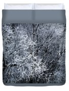 The Crystal Forest Duvet Cover