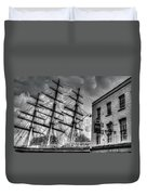 The Cutty Sark And Gipsy Moth Pub Greenwich Duvet Cover