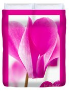The Cyclamen That Fought Back Duvet Cover