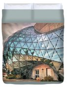 The Dali Museum St Petersburg Duvet Cover by Mal Bray