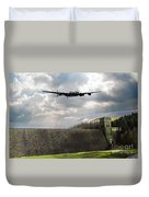 The Dambusters Over The Derwent Duvet Cover
