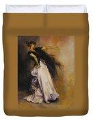The Dancer Duvet Cover by Diane Kraudelt