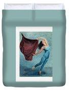The Dancer Duvet Cover