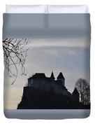 The Dark Side Of The Castle Duvet Cover
