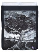The Darkening Tree Duvet Cover