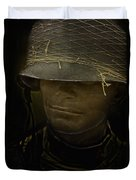 The Darkness Of War Duvet Cover