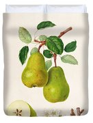 The D'auch Pear Duvet Cover by William Hooker