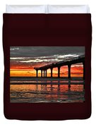 The Day Has Arrived  Duvet Cover