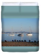 The Day Is Gone Two Duvet Cover