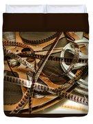 The Days Of Film Duvet Cover
