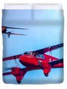 The De Havilland Dh90 Dragonfly Duvet Cover