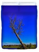 The Death Of  A Tree V5 Duvet Cover