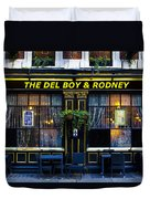 The Del Boy And Rodney Pub Duvet Cover