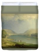 The Delaware Water Gap Duvet Cover