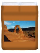 The Delicate Arch 10 Duvet Cover