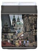 The Depths Of Prague Duvet Cover