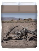The Desert Floor Duvet Cover
