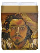 The Desperate Man Duvet Cover
