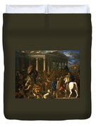 The Destruction And The Sack Duvet Cover
