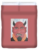 The Devil Is The Detail Duvet Cover