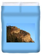 The Devil's Courthouse - Blue Ridge Parkway Duvet Cover