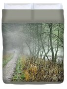 The Disappearing Man - Wolfscote Dale Duvet Cover
