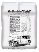 The Distinguished Car Of  1916 Duvet Cover