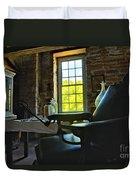 The Doctor's Office Duvet Cover