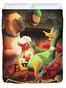 The Dog & Duck Duvet Cover