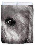 The Dog Next Door Duvet Cover