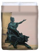 The Doge And Winged Lion At Venice Duvet Cover