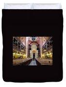 The Dohany Street Synagogue Budapest Duvet Cover