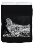 The Dove - Oil Portrait Duvet Cover