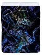The Dragon Behind The Mask  Duvet Cover