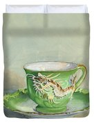 The Dragon Teacup Duvet Cover