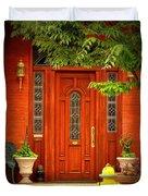 The Dream Door Duvet Cover