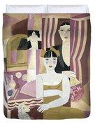 The Dressing Room Duvet Cover