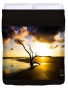 The Driftwood Tree Folly Beach Duvet Cover