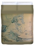 The Drinker Or An Hangover Duvet Cover