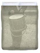 The Drummer Duvet Cover