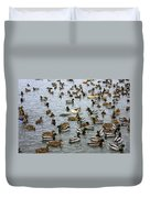 The Duck Pond Duvet Cover