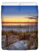 The Dunes At Sunset Duvet Cover