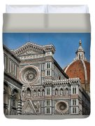 The Duomo And Baptistery Of St. John Duvet Cover